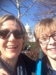 On Capitol Hill with Jules