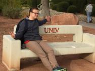 Clayton at UNLV